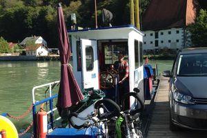 Donaufähre Obermühl-Kobling Obermühl